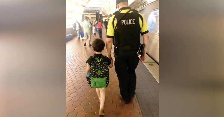 Officer Case Helps Andrew Out Of Autism Breakdown  -InspireMore