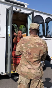 sgt williams surprises mom