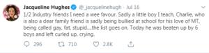 jacqueline hughes tweets