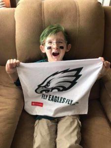 giovanni loves the Philadelphia Eagles