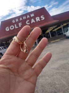 wedding rings found