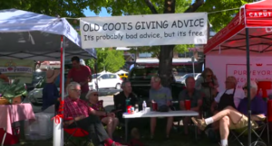 old coots giving advice