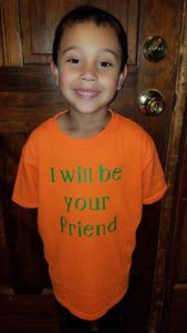 blake I will be your friend shirt
