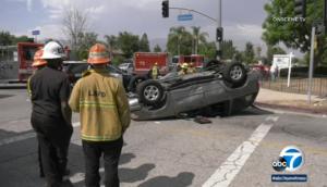 car crash los angeles