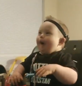 special needs boy loves bubbles
