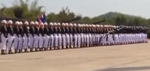 royal thai navy drill team