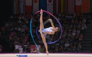 Yevgenia Kanayeva ribbon