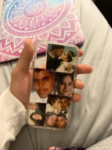 mom dad phone case