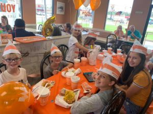 whataburger birthday party