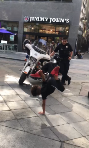 break dance challenge