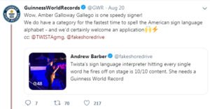 guinness world records tweet