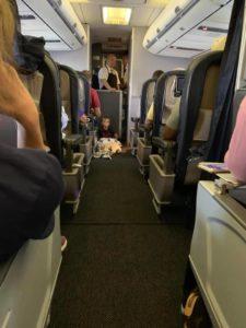 brayson on united flight
