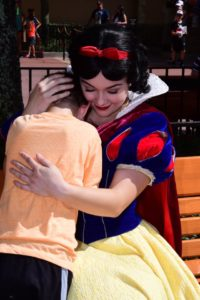 snow white hugs brody