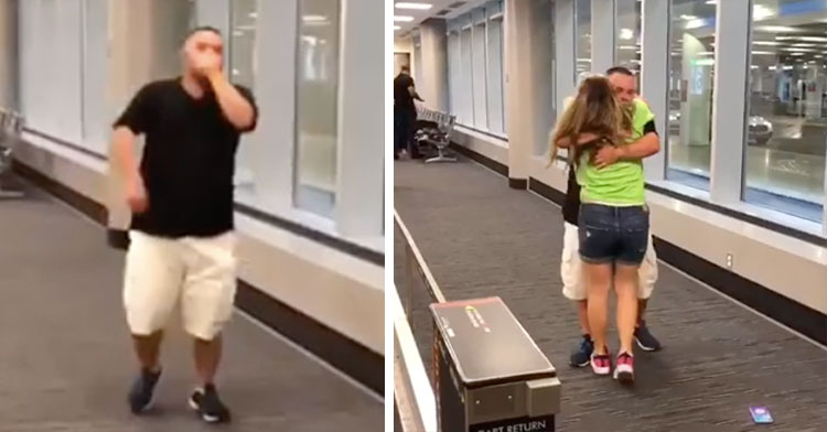 Long-Distance Couple With Down Syndrome Reunites At Airport