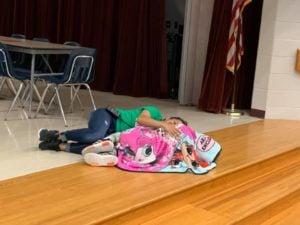 mrs esther comforts kenlee