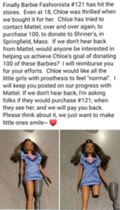 barbie facebook post