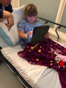 khloe in hospital