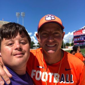 david and coach swinney