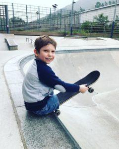 max at skate park