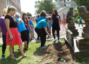hope hall students bury fears