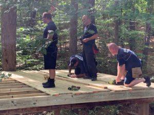 lorenzo's treehouse construction