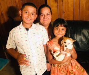 lorenzo and his family