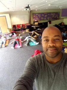 changa and yoga class