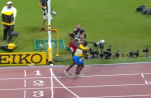 runners cross finish line