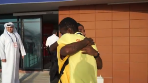 jonathan hugs braima