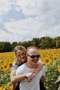 down syndrome couple engagement photos