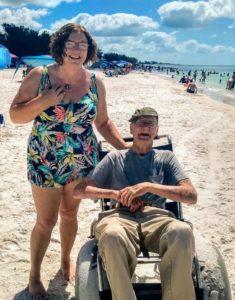 howard's first florida beach trip