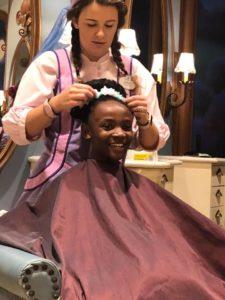 sydney gets princess makeover