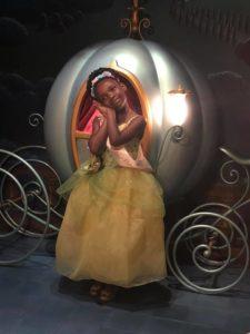 sydney as princess tiana