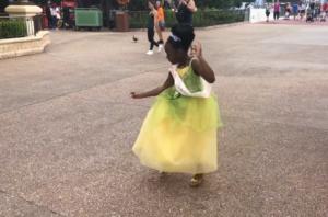 sydney dances at disney world