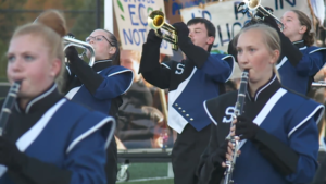 sparta marching band