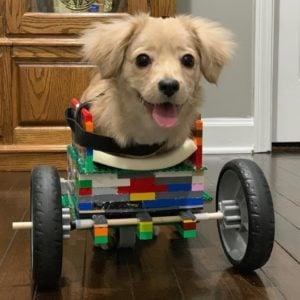 gracie's third lego wheelchair