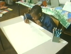 young stephen drawing