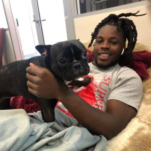zoe 49ers emotional support dog