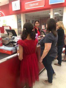 foster child shopping spree