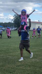 austin scores touchdown