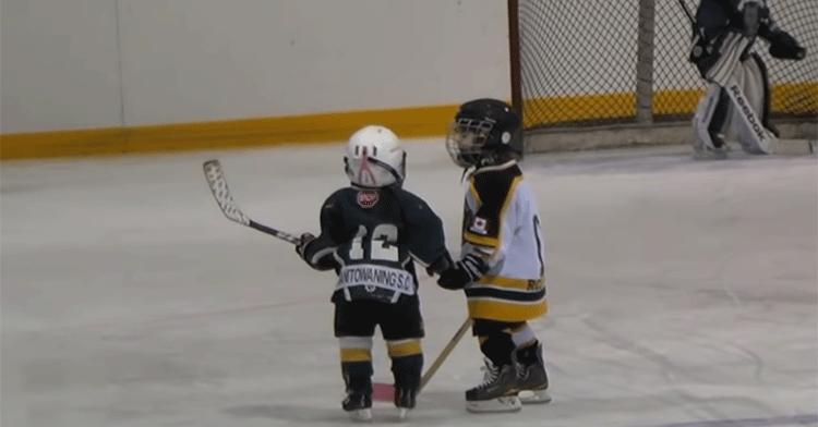 tyke hockey