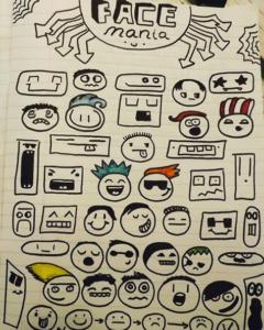 doodle boy drawings