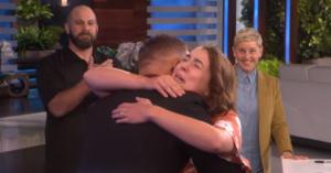 steve hugs ashley