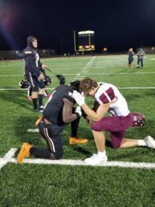 ty and gage pray together