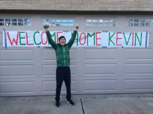 kevin's homecoming