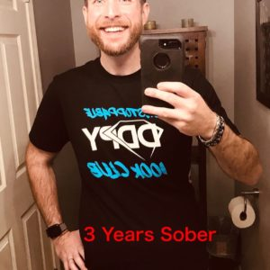 3 years sober