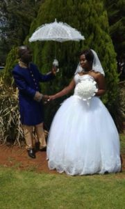Hector and Nonhlanhla's first wedding