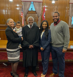 judge dinkins and juliana's family