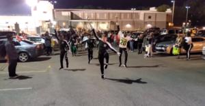 jefferson davis marching band