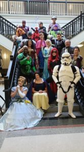 superheroes and disney characters